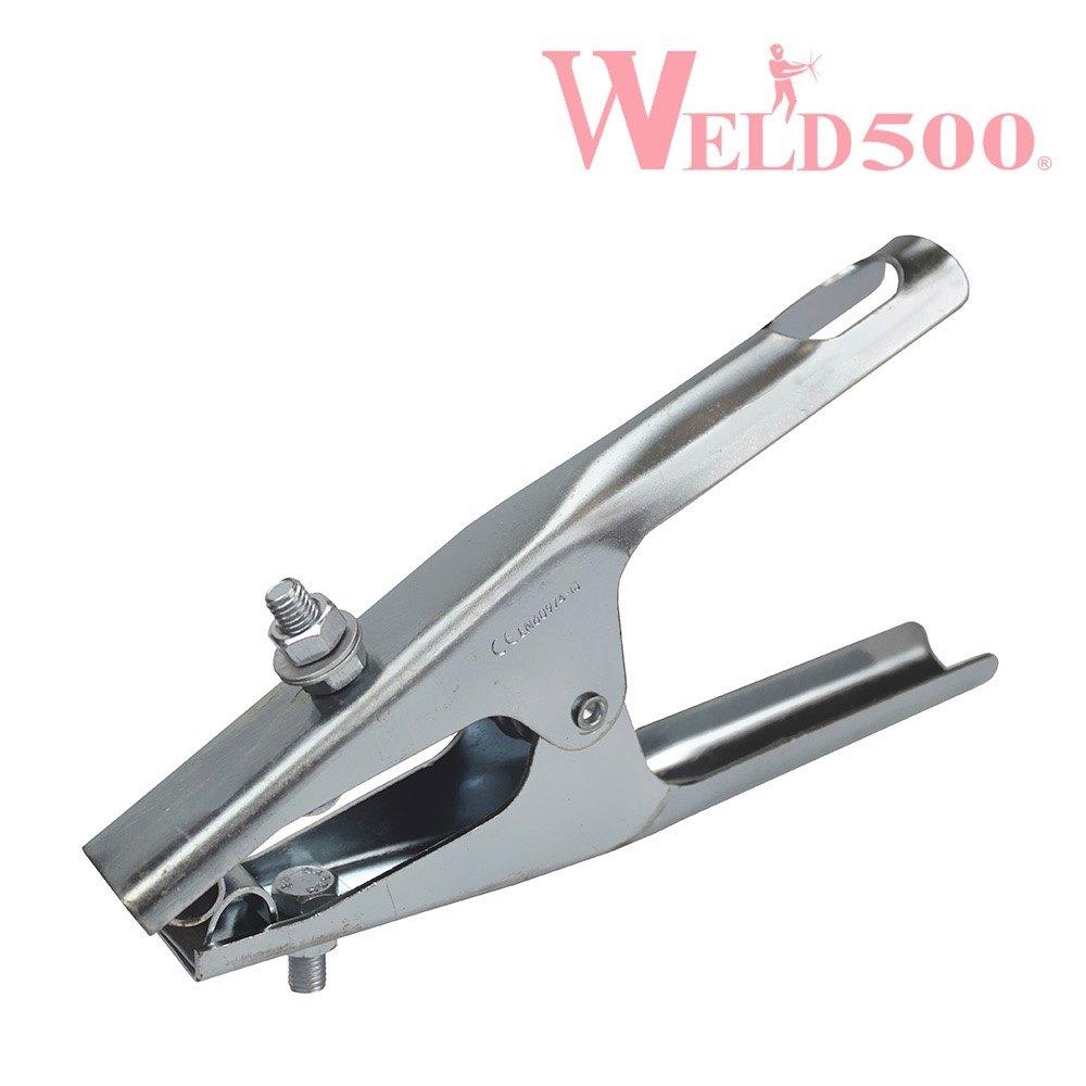 pinza de tierra de acero weld500