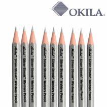 lápiz para soldador color plata