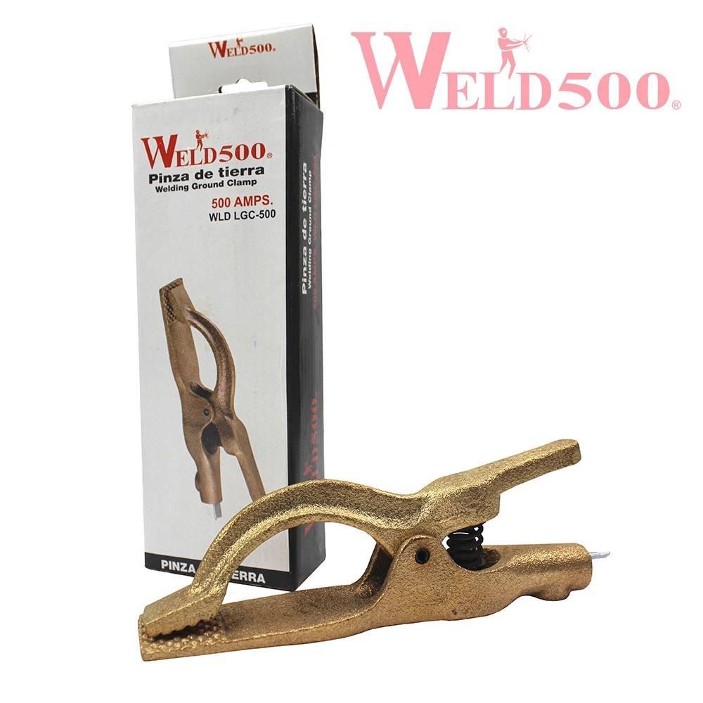 pinza de tierra tipo Lenco weld500