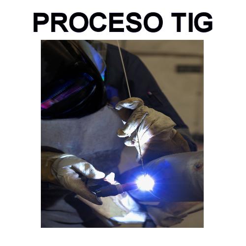 consumibles proceso TIG