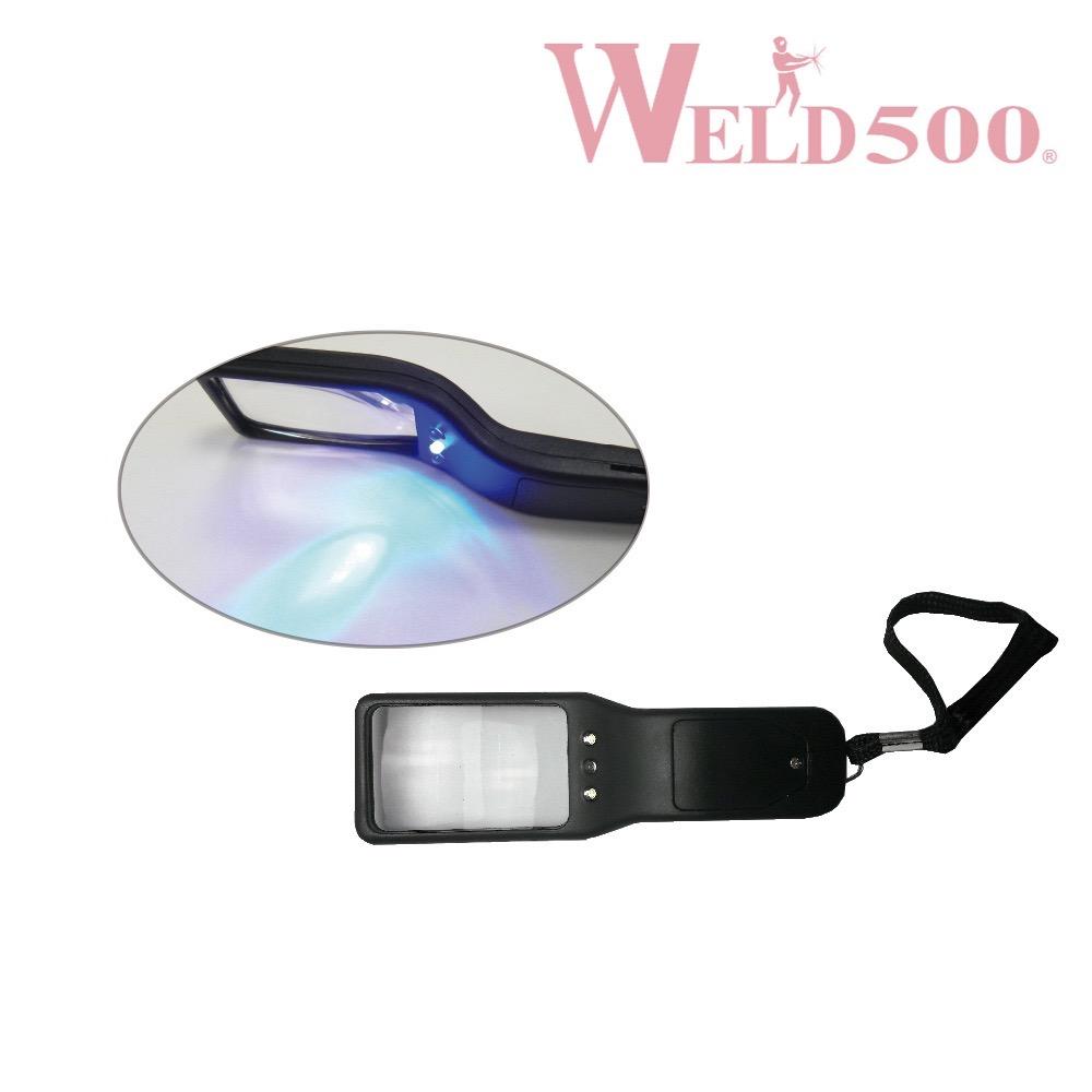 lámpara de inspección weld500