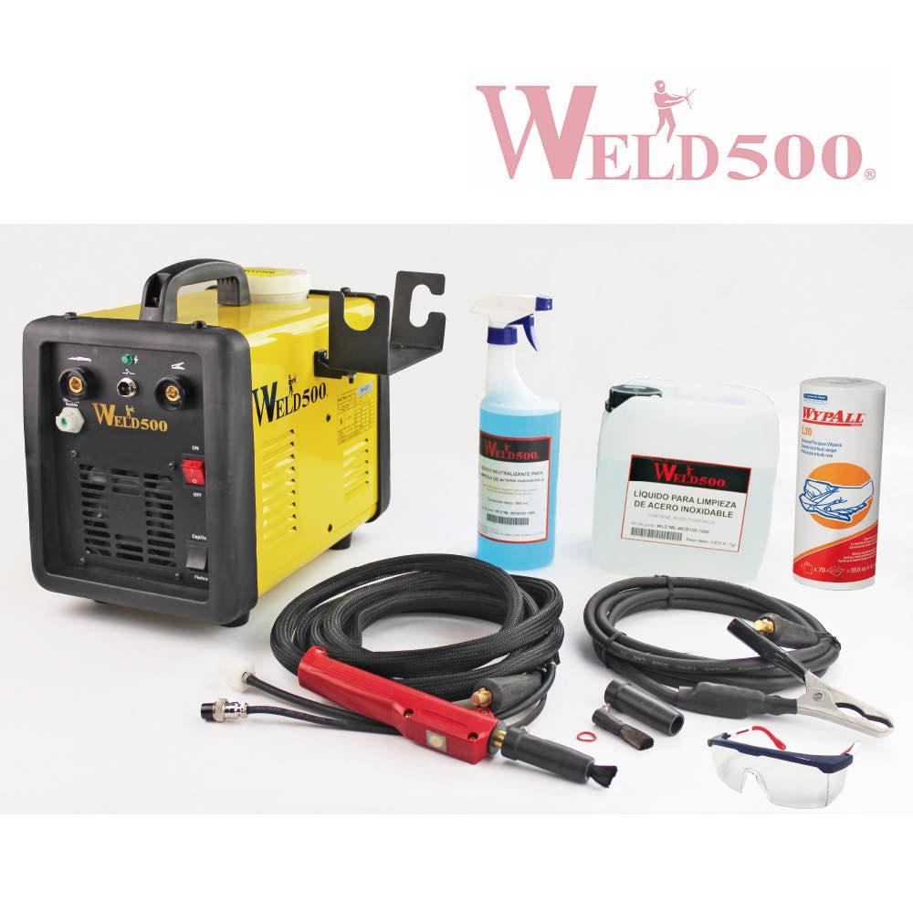 máquina para limpieza de cordones weld500
