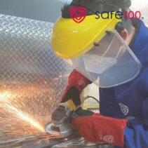 protector facial SAFPF2000 2